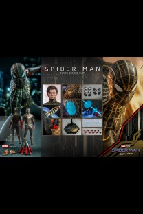 Hot Toys MMS604 - Spider-Man: No Way Home - Spider-Man (Black & Gold Suit)