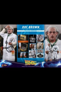 Hot Toys MMS610 - Back to the Future - Doc Brown (Deluxe Version)