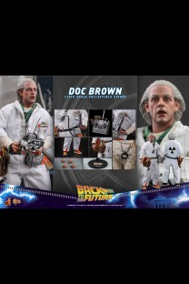 Hot Toys MMS609 - Back to the Future - Doc Brown