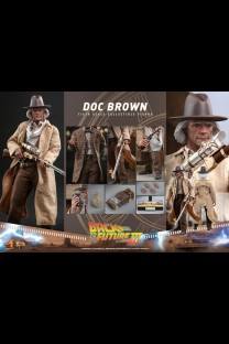 Hot Toys MMS617 - Back to the Future Part III - Doc Brown