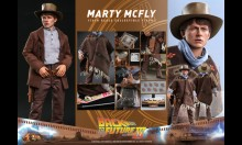 Hot Toys MMS616 - Back to the Future Part III - Marty McFly