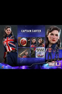 Hot Toys TMS059 - What If...? - Captain Carter