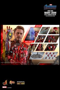Hot Toys MMS543D33B Avengers Endgame Iron Man Mark LXXXV (Battle Damaged Version) (Special Edition)