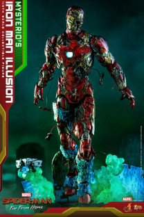 Hot Toys MMS580 - Spider-Man: Far From Home - Mysterio's Iron Man Illusion