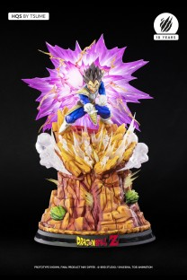 Dragon Ball Z Vegeta Galick Gun HQS By Tsume