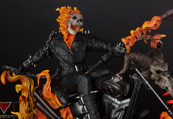 XM Studios Ghost Rider Statue Review